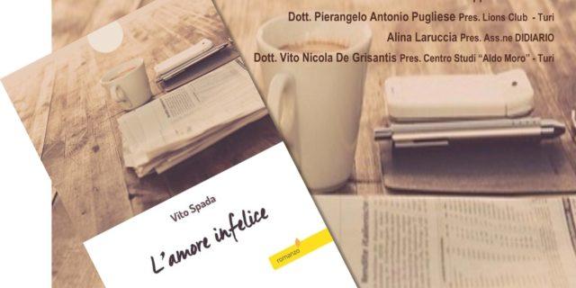 """Presentazione del romanzo """"L'amore infelice"""" di Vito Spada"""